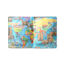 Load image into Gallery viewer, World Map 2 Men's Wallet