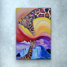 Load image into Gallery viewer, Giraffe Love Prints