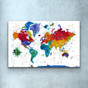 Color Map Print