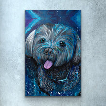 Load image into Gallery viewer, Blue Dog Print