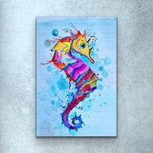 Load image into Gallery viewer, Seahorse Print