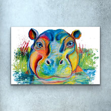 Load image into Gallery viewer, Hippo Print