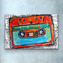 Load image into Gallery viewer, Cassette Tape Print