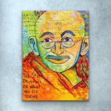 Load image into Gallery viewer, Gandhi Print