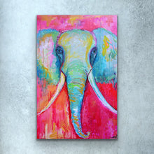 Load image into Gallery viewer, Blue Elephant Prints