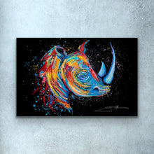 Load image into Gallery viewer, Rhino Love Print
