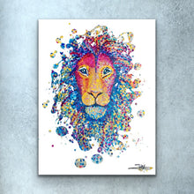 Load image into Gallery viewer, Lion Spain Prints