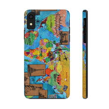 Load image into Gallery viewer, World Map 1 Phone Case