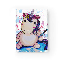 Load image into Gallery viewer, Baby Unicorn Journal - Ruled Line