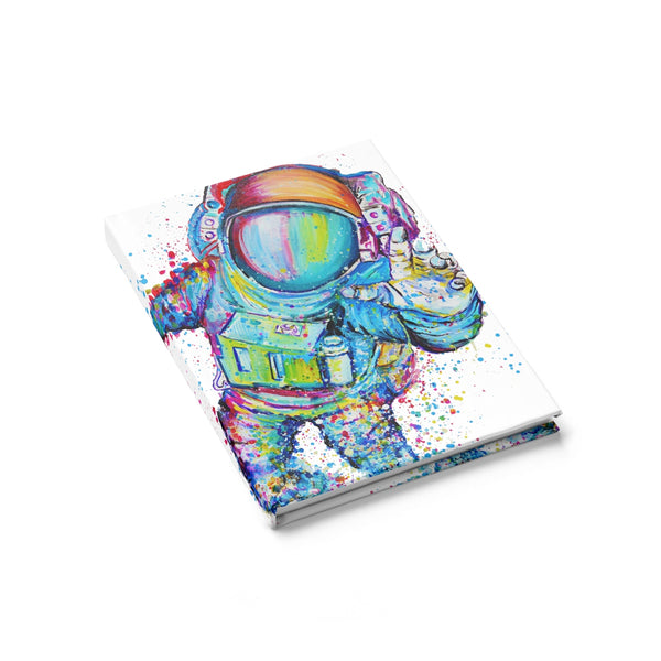Astronaut 1 Journal - Ruled Line
