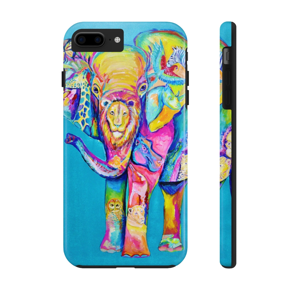Elephant 1 Tough Phone Cases