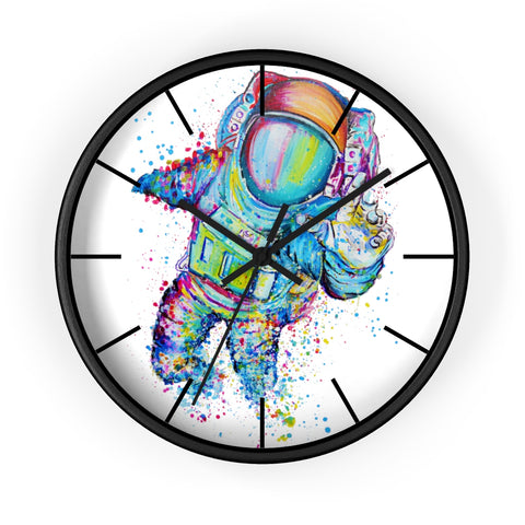 Astronaut 1 Wall clock