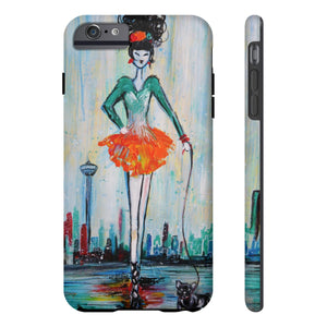 Fashion Girl Tough Phone Cases