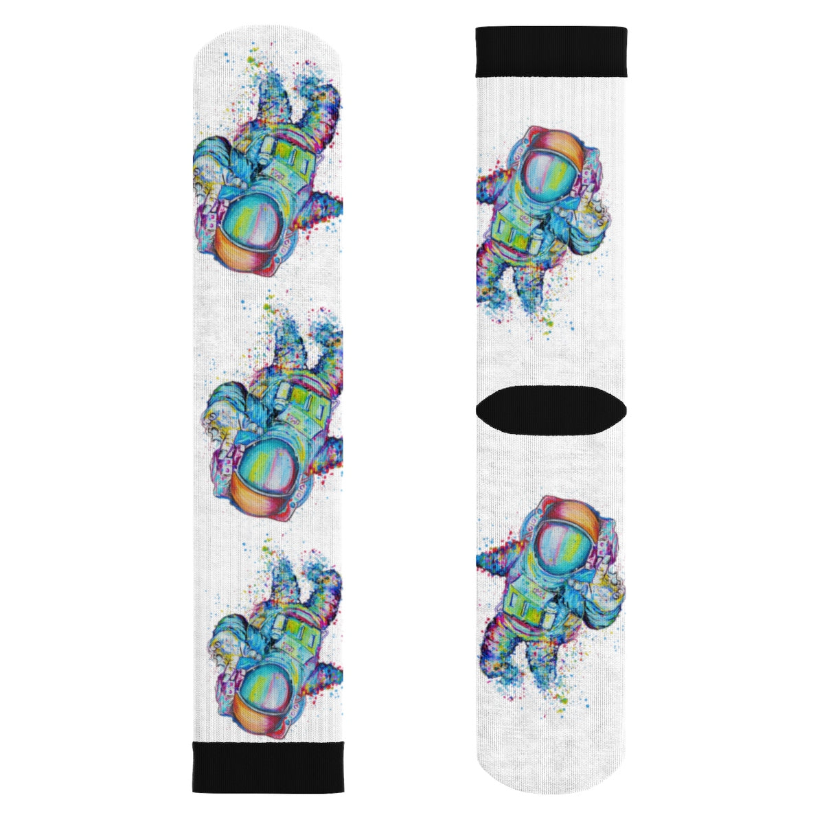 Astronaut 1 Sublimation Socks
