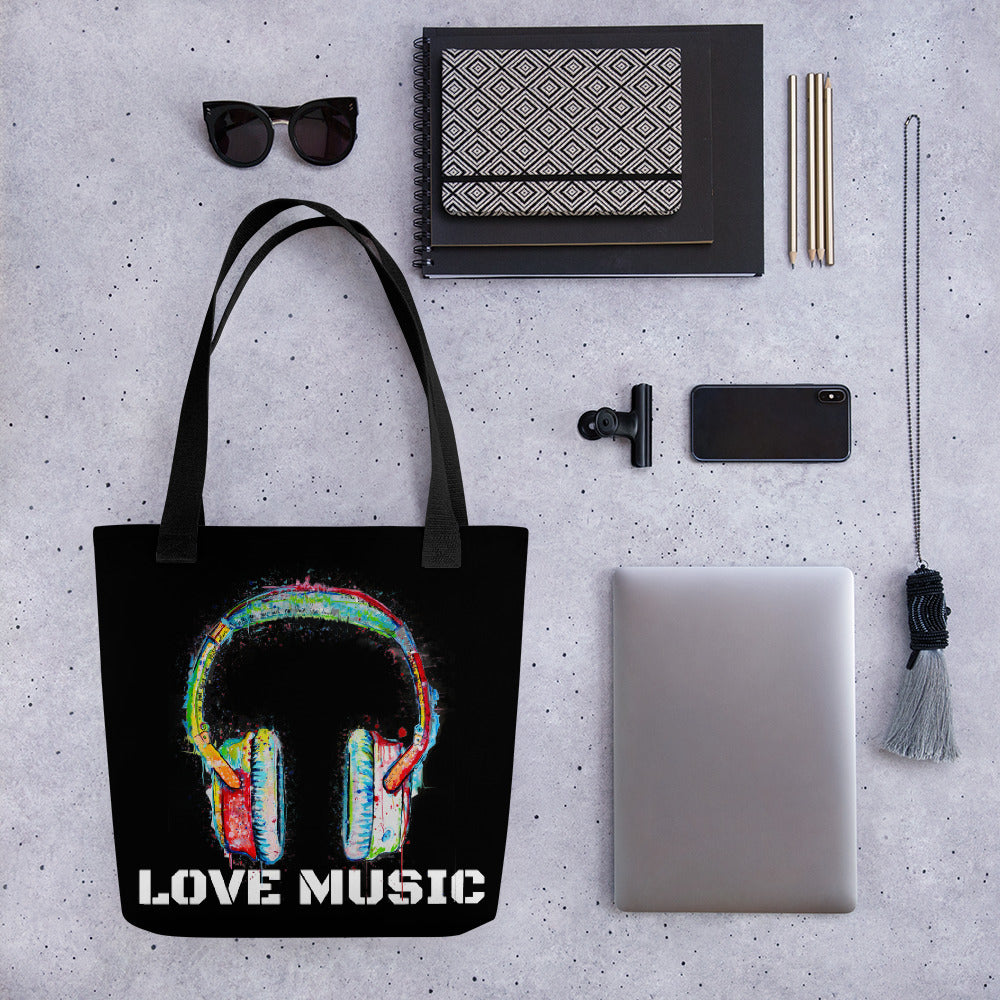 Love Music Tote