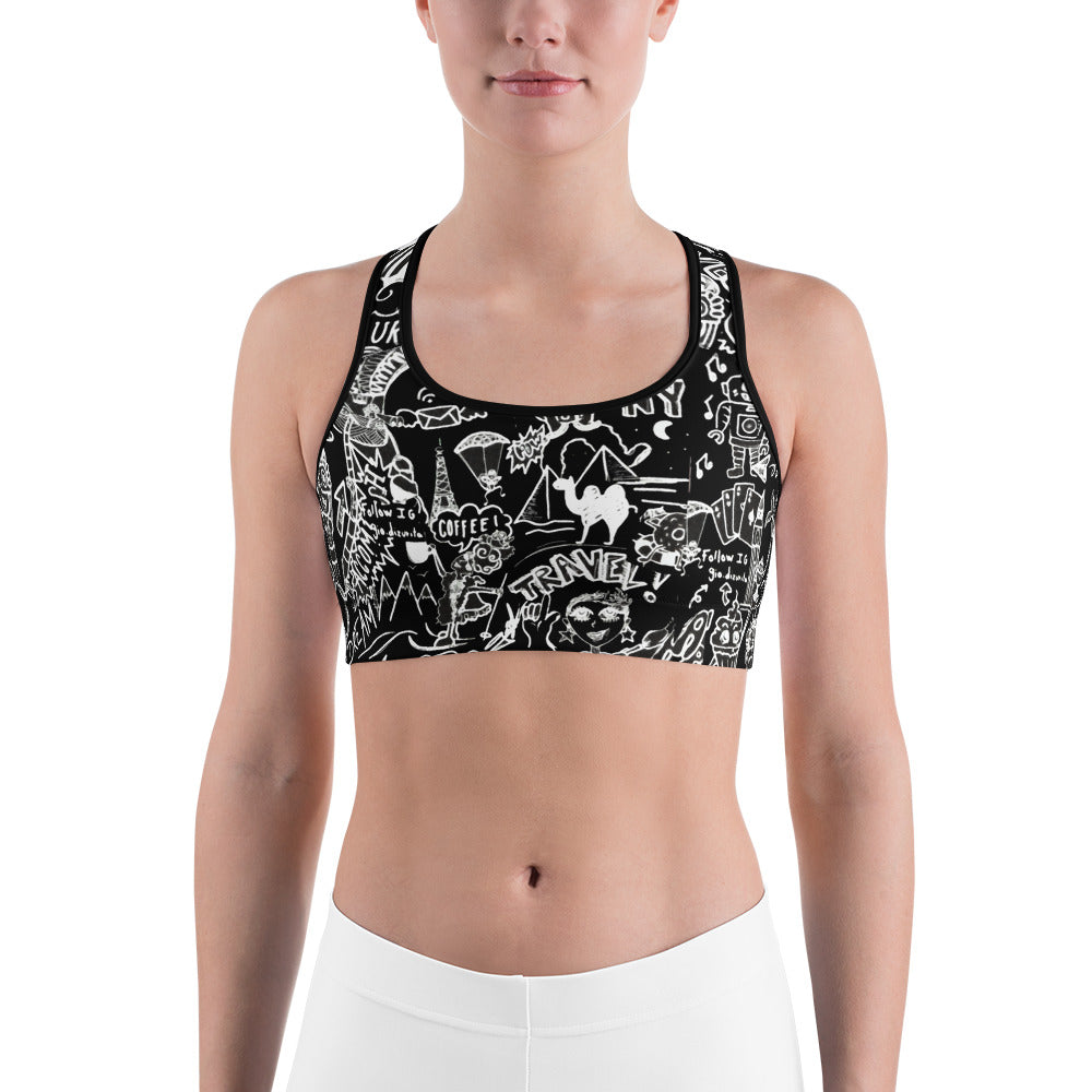 2 My World Sports bra