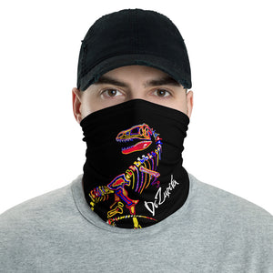 T-Rex Skeleton Neck Gaiter
