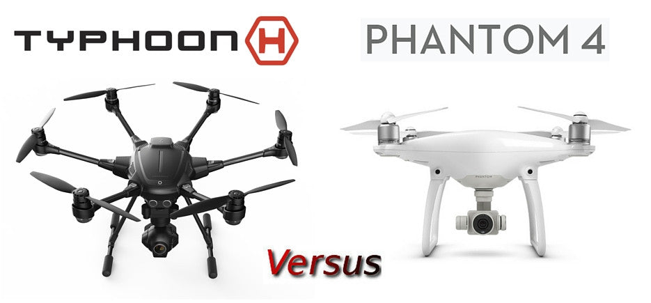 Comparing Yuneec Typhoon H vs DJI Phantom 4