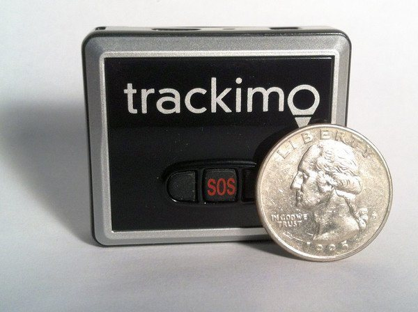 Trackimo® GPS Tracker - 1 Year GSM Service Included