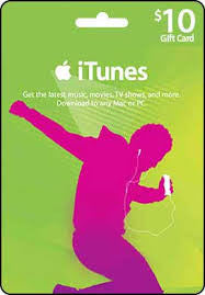 iTunes Gift Card 10$  <br> ( Email Delivery )