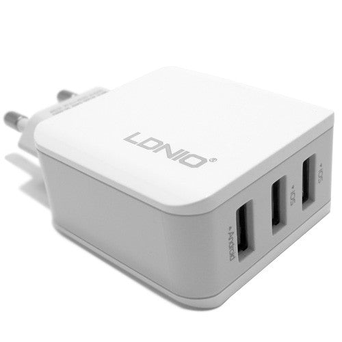 LDNIO Home Charger (A3301) 5V/3.1A 3USB for Mobile