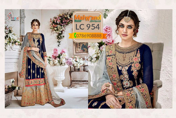 LC954 Shree Georgette dress
