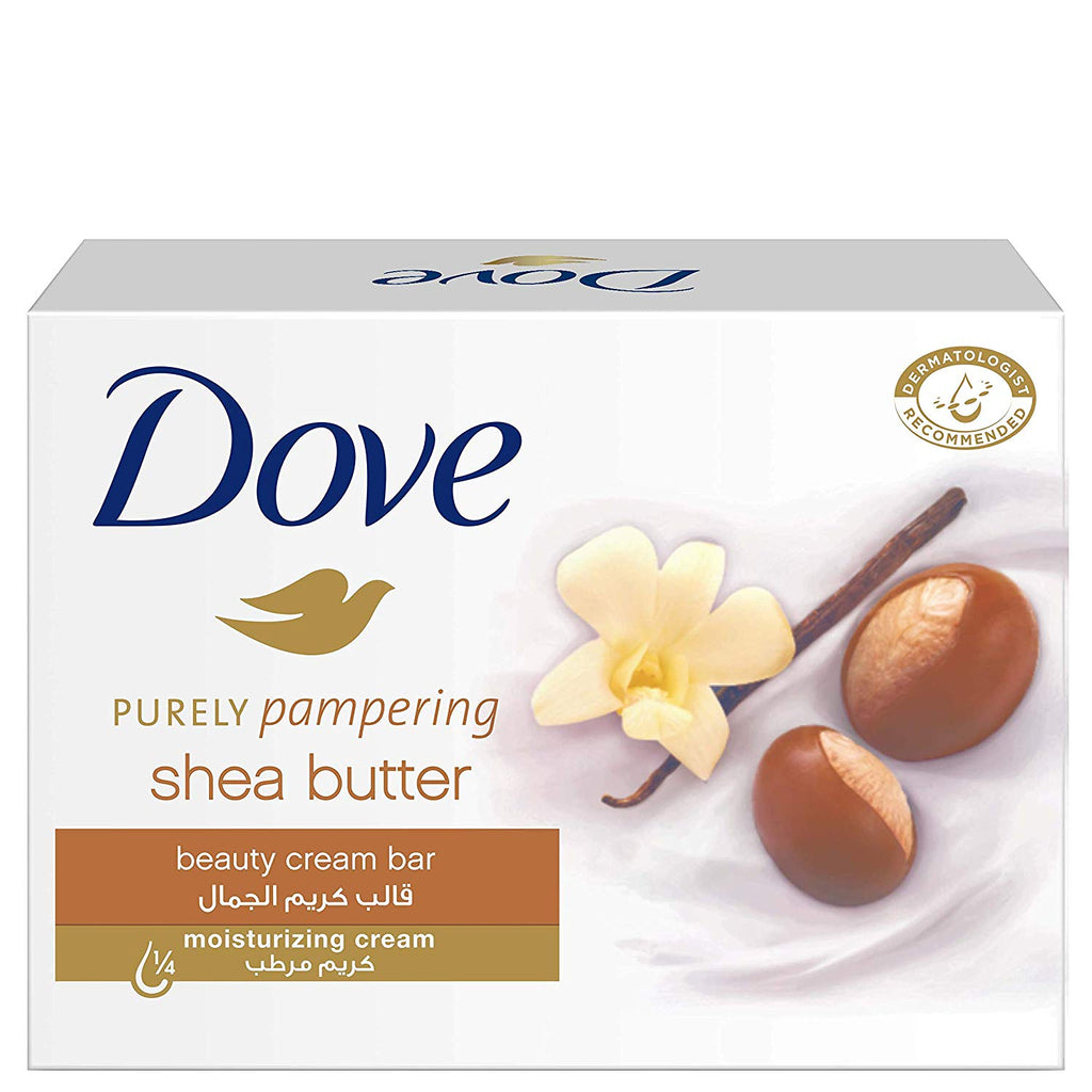 Dove Purely Pampering Beauty Cream Shea Butter Soap Bar