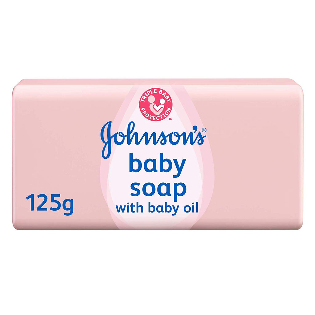 JOHNSON'S Baby with Baby Oil Soap Bar