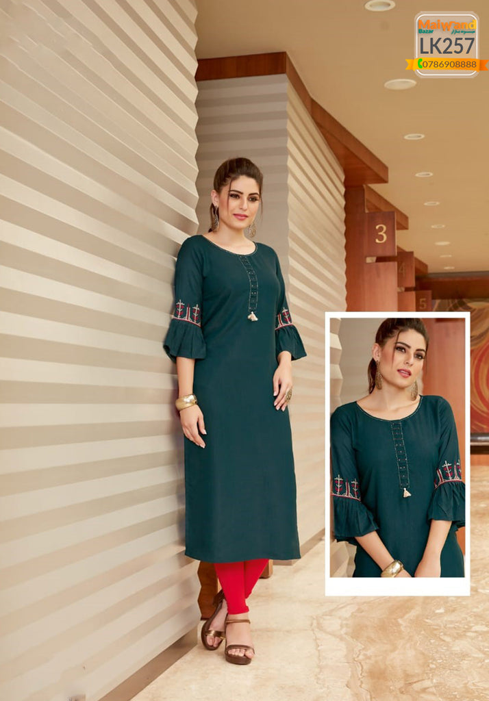LK257 Mittoo Long Kurtis & Legging