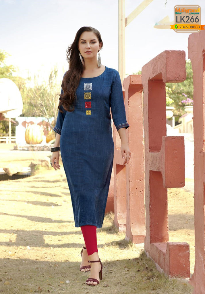 LK266 Mittoo Long Kurtis & Legging