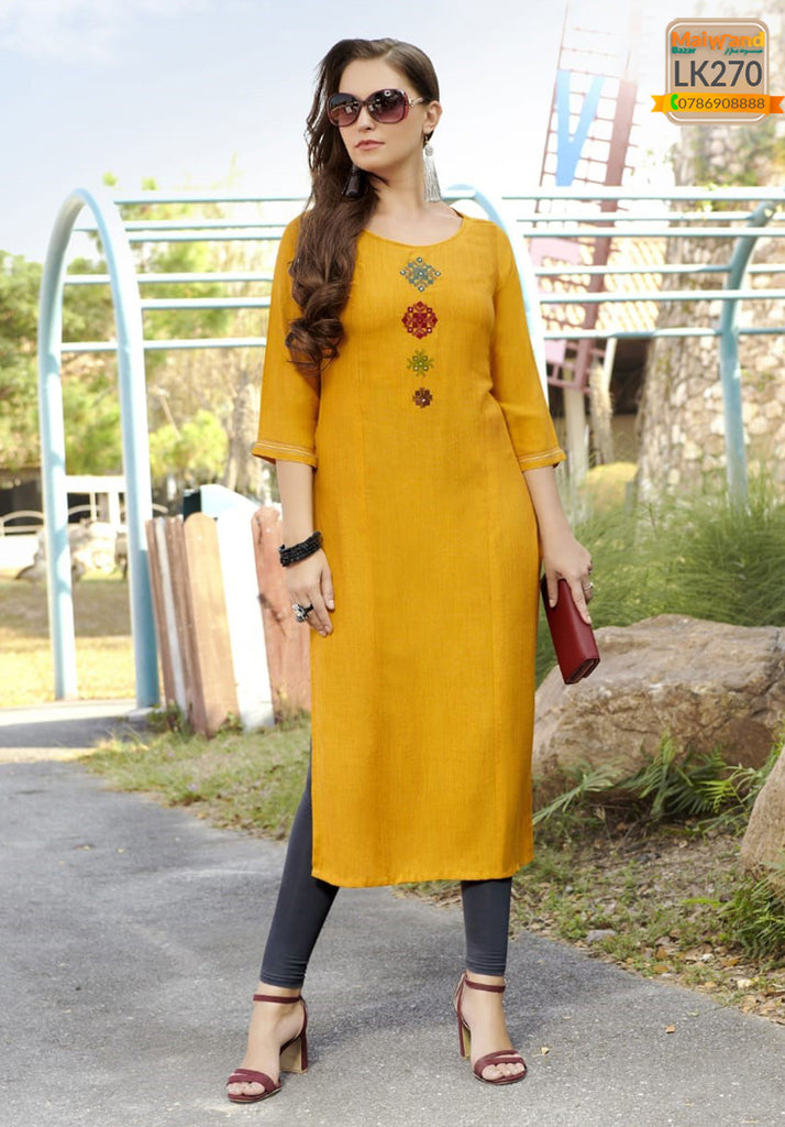 LK270 Mittoo Long Kurtis & Legging