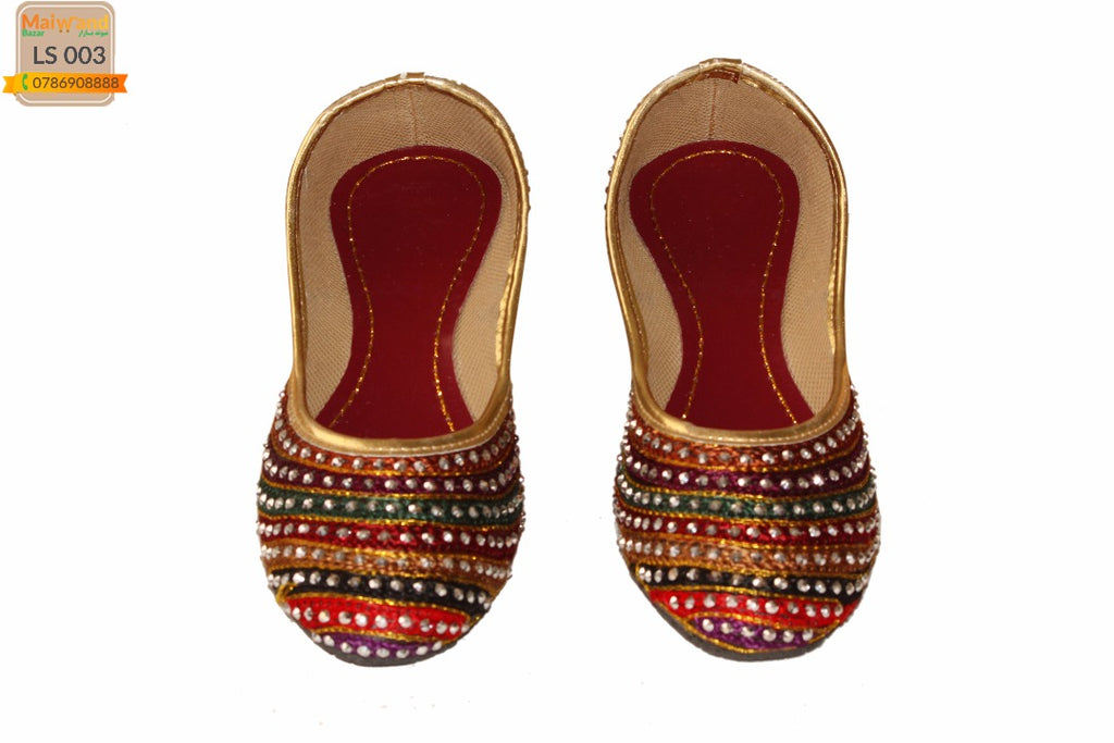 LS003 Handmade Indian Jutti