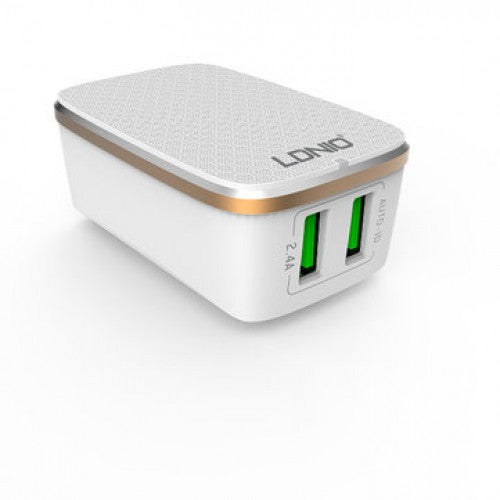 Ldnio A2204 2 USB Port Travel Charger