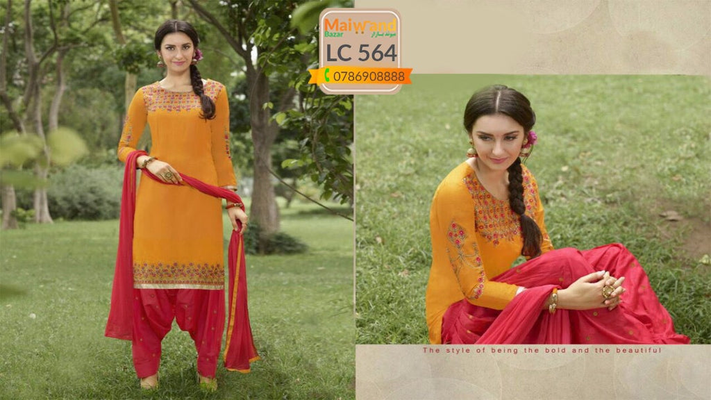 LC564 Saina Patiala Dress