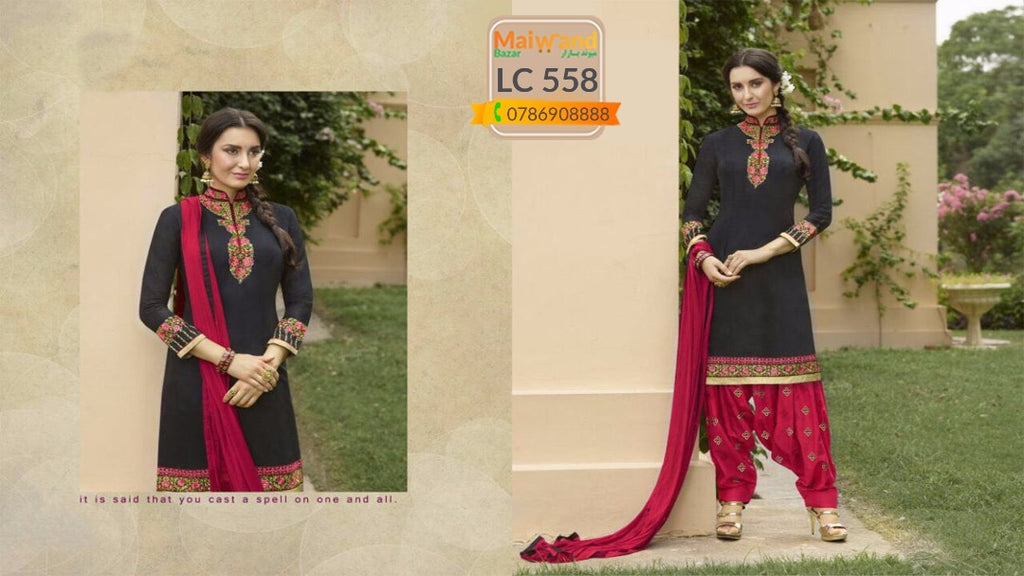 LC558 Saina Patiala Dress