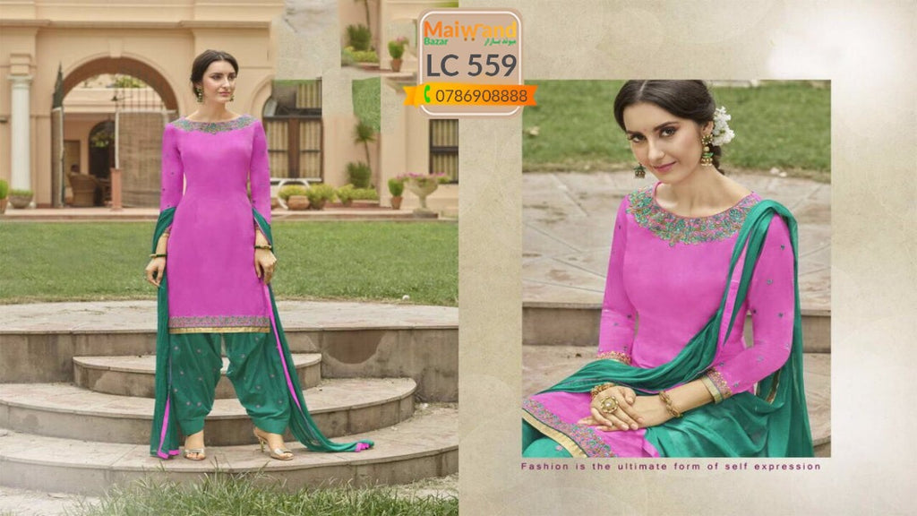 LC559 Saina Patiala Dress