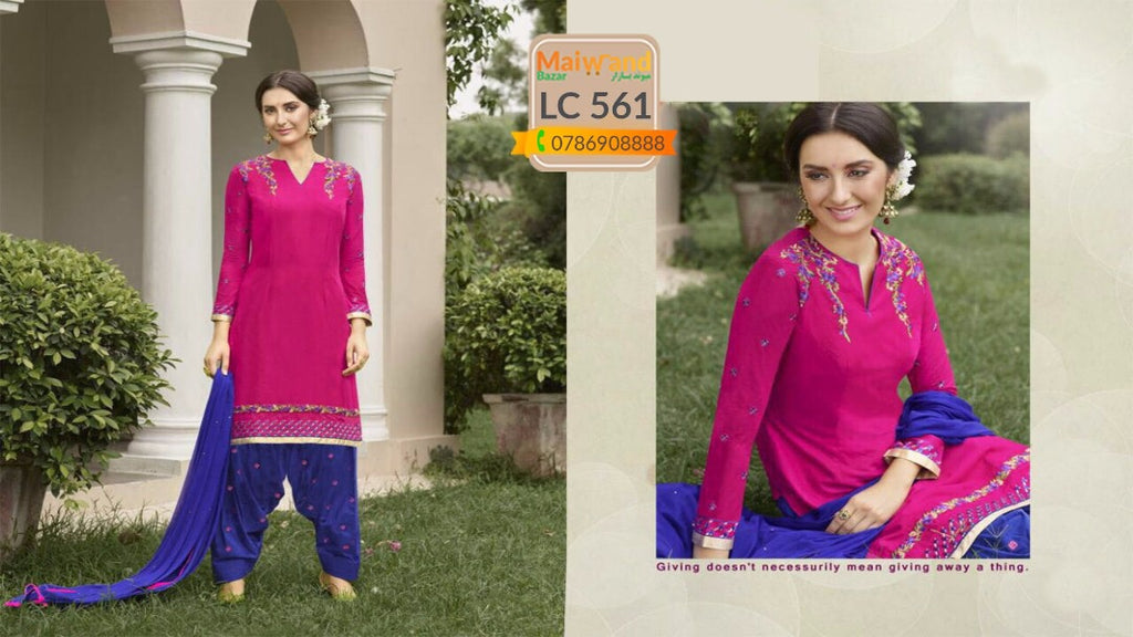 LC561 Saina Patiala Dress