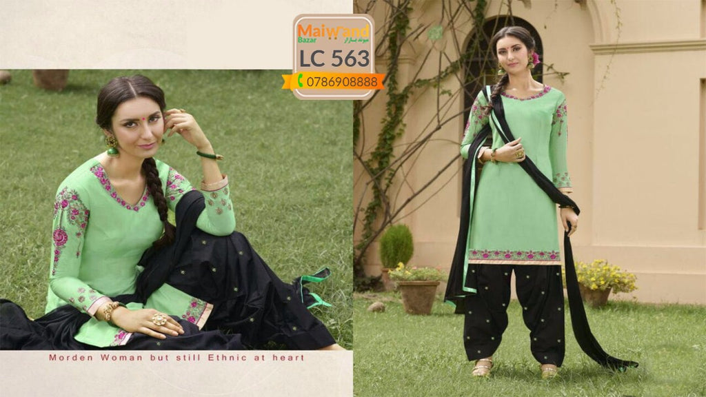 LC563 Saina Patiala Dress
