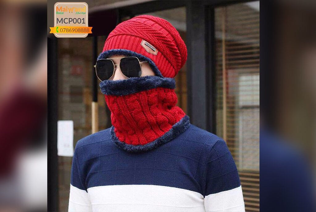 MCP001 Men's Winter Cap Red Color