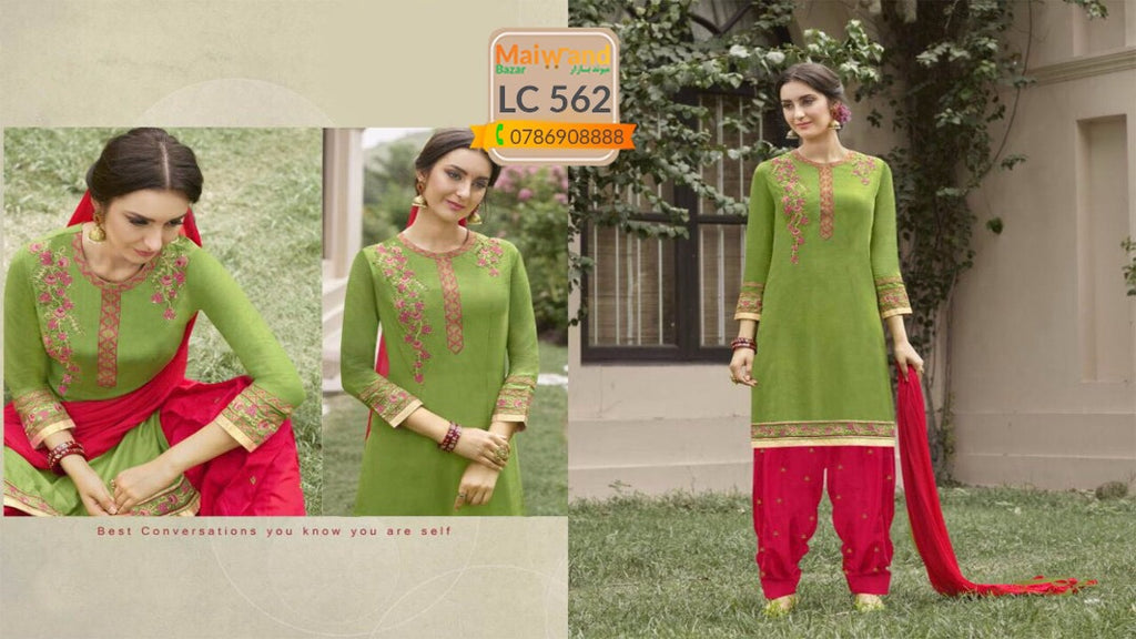 LC562 Saina Patiala Dress