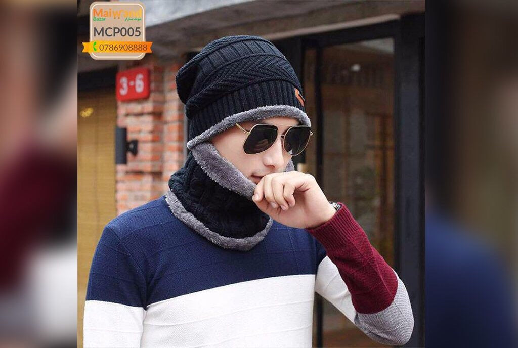 MCP005 Men's Winter Cap Black Color