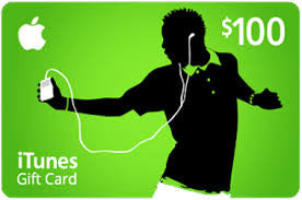 iTunes Gift Card 100$ , ( Email Delivery )