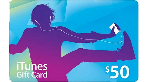 iTunes Gift Card 50$  <br/> ( Email Delivery )