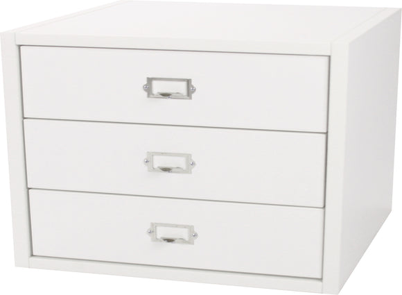 Traditional Cube, Three Drawers 12 Inch - Legacy Woodcrafters LLC,  Traditional 12 inch - Legacy Woodcrafters LLC