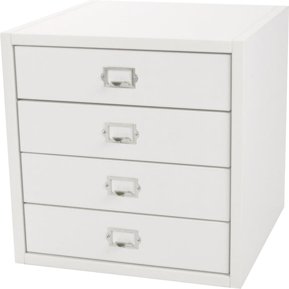 Traditional Cube, Four Drawers 16 Inch - Legacy Woodcrafters LLC,  Traditional 16 inch - Legacy Woodcrafters LLC