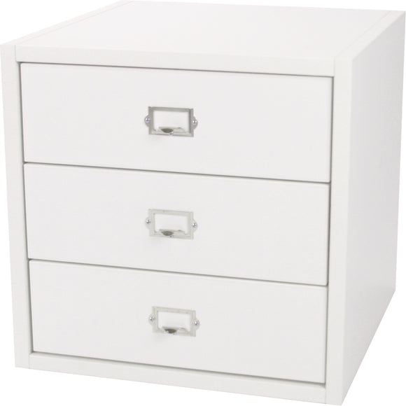Traditional Cube, Three Drawers 16 Inch - Legacy Woodcrafters LLC,  Traditional 16 inch - Legacy Woodcrafters LLC