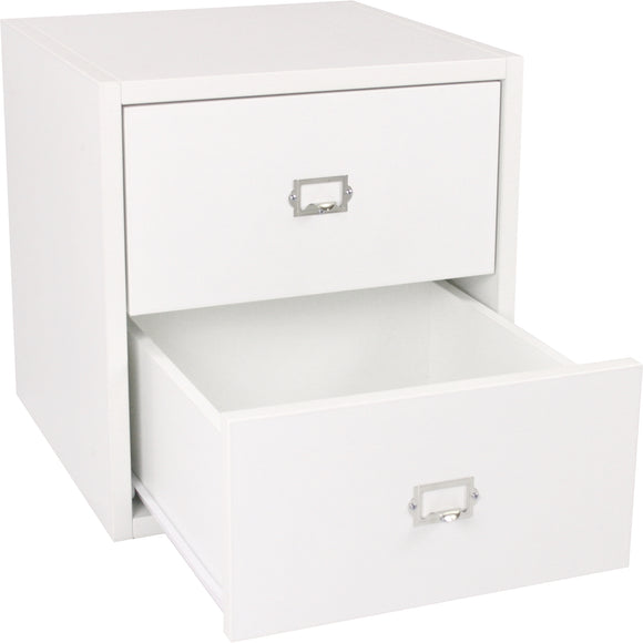 Traditional Cube, Two Drawers 16 Inch - Legacy Woodcrafters LLC,  Traditional 16 inch - Legacy Woodcrafters LLC
