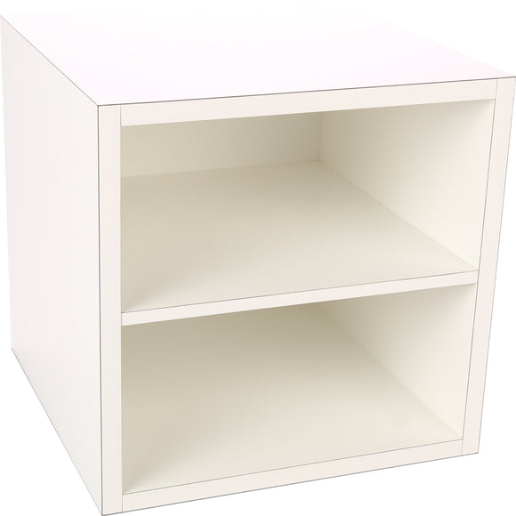 Premiere Cube, One Fixed Shelf 16 Inch - Legacy Woodcrafters LLC,  Premiere 16 inch - Legacy Woodcrafters LLC