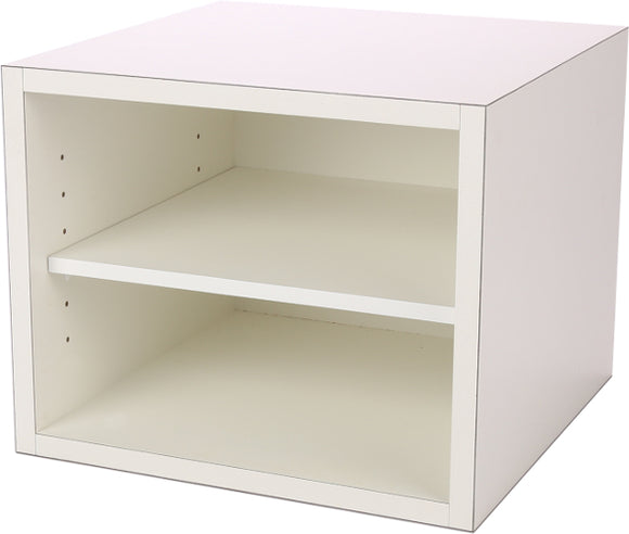 Premiere Cube, Open with Adjustable Shelf, 12 Inch - Legacy Woodcrafters LLC,  Premiere 12 inch - Legacy Woodcrafters LLC