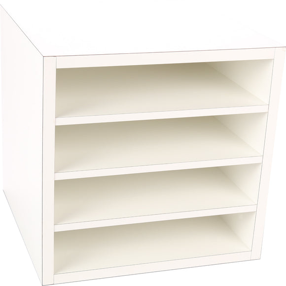 Premiere Cube, Three Fixed Shelves 16 Inch - Legacy Woodcrafters LLC,  Premiere 16 inch - Legacy Woodcrafters LLC
